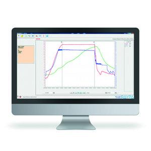 SW8000 Software externo para visualización y realización de informe con resultados